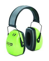 Howard Leight by Honeywell Leightning L3HV Hi-Visibility Noise Blocking Safety..