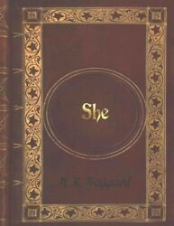 She Paperback by Haggard H. Rider Like New Used Free shipping i