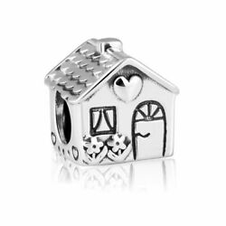 NWT AUTHENTIC PANDORA Charm SILVER CHARM HOME SWEET HOME #791267