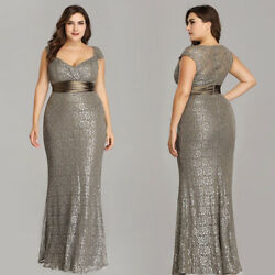Ever Pretty US Plus Size Long Formal Evening Gown Cocktail Party Prom Dress 8798 $44.99