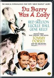 DU BARRY WAS A LADY New Sealed DVD Gene Kelly Lucille Ball
