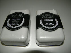 2-PACK MISTRAL SILVER ABSINTHE MEN'S BODY SOAP 8.8 oz NEW SEALED