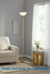 71 Inch Floor Lamp Living Room Light Stand Scoop Shade Read Torchiere Lamp 150W $17.99