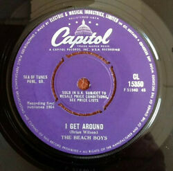 Beach Boys - I Get Around UK 1964 Capitol CL 15350 7