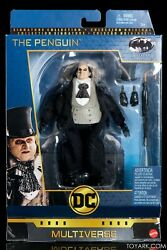 DC Comics Multiverse Signature Collection Batman Returns The Penguin Figure DCEU