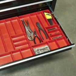 Tool Box Chest Organizer Screwdriver Wrench Toolbox Holder Tray Drawer Storage