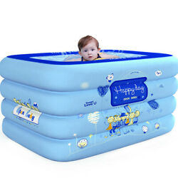 Outdoor Inflatable Family and Kids Swimming Pool Swim Center Water Play Fun B