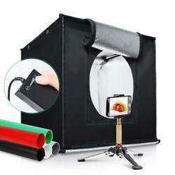 40cm Light Portable Photo Studio Portable Mini Photography Box Led Kit Tent Cube $36.19