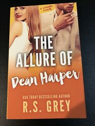 Signed Copy Of The Allure of Dean Harper by R. S. Grey (2015 Paperback)