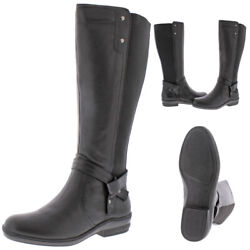 David Tate Women's Memphis Leather Tall Knee-High Riding Boots