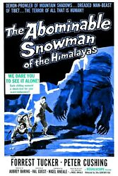 The Abominable Snowman (1957) DVD