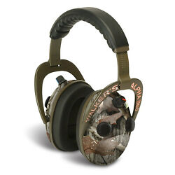Walkers Alpha Muffs 360 Hunting Shooting 9x Hearing Enhancement Earmuffs Camo