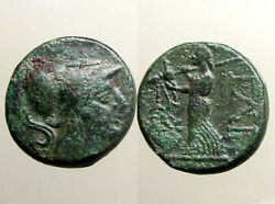 ILION TROAS BRONZE AE17___Ancient Greece___LATER NAME FOR ANCIENT TROY____Rare