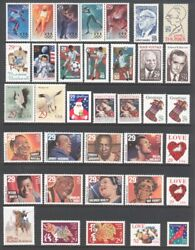 1994 U.S. COMMEMORATIVE YEAR SET *76 STAMPS* WITH WWII SHEET MINT NH $28.75