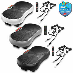 Whole Body Vibration Platform Plate Fitness Machine with Resistance Bands $84.99