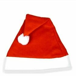 Christmas Bag Filler Santa Unisex Budget Hat Costume Fancy Dress Accessory 250pc