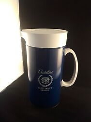 CADILLAC Certified Craftsman's League vintage  pitcher 1970s  THERMO-SERV USA