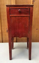 Antique Vintage Cabinet Night Stand Table