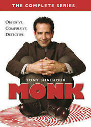 Monk: The Complete Series collection 1-8 (DVD 2016 32-Disc Set)