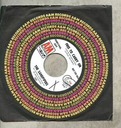 Sandpipers - Free To Carry On  Whole World In His Hands  promo  VINYL 45