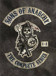 Sons of Anarchy: The Complete Series 1-7 (DVD 2015 30 discs)