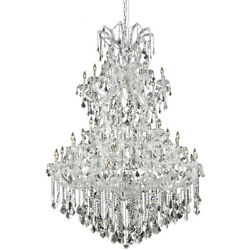 ASFOUR CRYSTAL CHANDELIER LARGE HIGH QUALITY MARIA THERESA FIXTURES 61 LIGHT 72