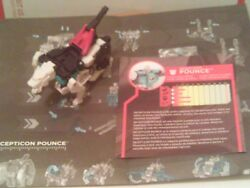 Transformers Siege on Cybertron POUNCE Loose Complete