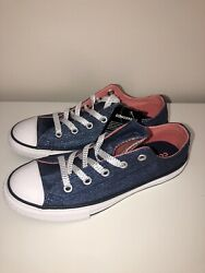 New Converse All Star Girls Sparkly Sneakers 2 youth $25.00