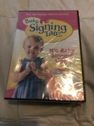 Baby Signing Time Complete DVD Collection Vol 1-4 + 4 CD