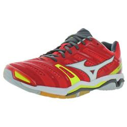 Mizuno Men's Wave Stealth 4 Mesh Athletic Court Sneakers Shoes $37.79