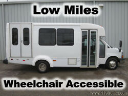 2014 Chevy EXPRESS G4500 WHEELCHAIR 15-PASSENGER CHURCH SHUTTLE LIMO PARTY BUS