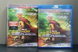 Thor: Ragnarok    (Blu-ray + DVD + Digital wSlipcover)     LIKE NEW