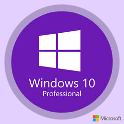 Windows 10 Professional activation key License 3264 Bit INSTANT DELIVERY