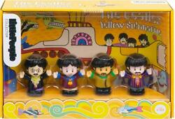 Fisher-Price The Beatles Yellow Submarine Figures Little People Kids Toy Fun New