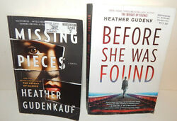 Lot of Paperback Books Thriller Suspense Before She Was Found & Missing Pieces