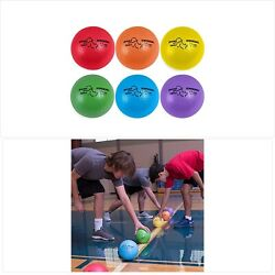 Champion Sports Rhino Skin Basic Dodgeball Set With Mesh Storage Bag