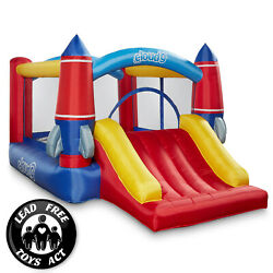 Cloud 9 Rocket Bounce House with Slide and Blower Inflatable Bouncer with Bag $219.99