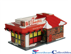 Department 56 Snow Village Chick-fil-A Diner Retired 4020219