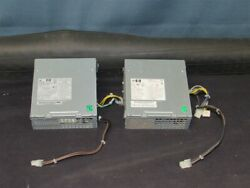 LOT OF 2 HP Power Supply 503376-001 240W 6000 6005 6200 Elite 8000 8100 8200 SFF