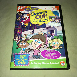 The Fairly Oddparents - Schools Out The Musical Nickelodeon DVD Kids Movie