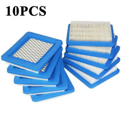 10pcs Air Filter Lawn Mower Filters for Briggs amp; Stratton 491588 491588S 399959 $16.99
