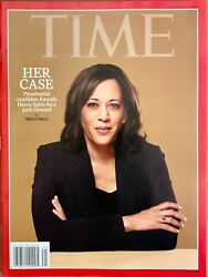 TIME MAGAZINE -  ISSUE # 41 OCT. 07  2019 - HER CASE (KAMALA HARRIS )
