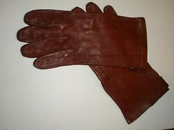 Short Leather driving Gloves Women Fashion Elegant Winter Plus Wear Deep wine $8.00