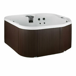 Lifesmart LS400-S Spas Home 22 Jets 4 Person Hot Tub with Multi Color LED Lights
