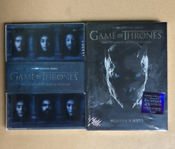 Game of Thrones Season 6 and 7 DVD Bundle Free Shipping!