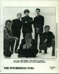 1992 Press Photo Columbia Records recording artists The Psychedelic Furs