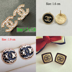 Fashion lady Jewelry Alloy Crystal Classic Stud Earring