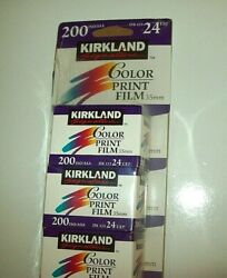 Kirkland Signature 35mm Color Print Film 200 ISO 24 EXP (Pack of 7) Germany
