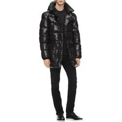Calvin Klein Men's Oversized Quilted Insulated Winter Puffer Down Coat