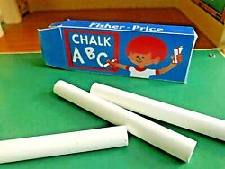 Replacement Vintage Fisher Price Chalk Box #923 School #938 Sesame Street Desk $2.99